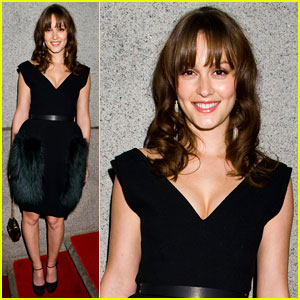 Leighton Meester: amfAR New York Gala 2012