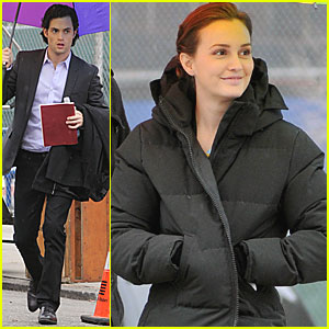Leighton Meester Had a Sweet Valentine's Day