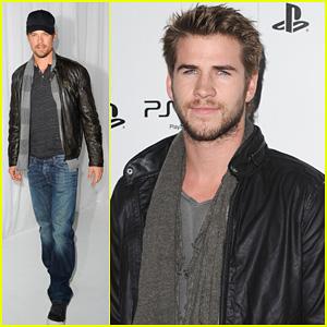 Liam Hemsworth & Josh Duhamel: PS Vita Launch Party!