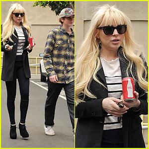 Cody & Lindsay Lohan: Panamera Pair