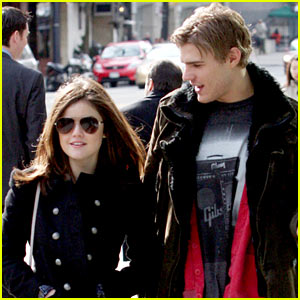 Chris Zylka & Lucy Hale: Canada Couple!