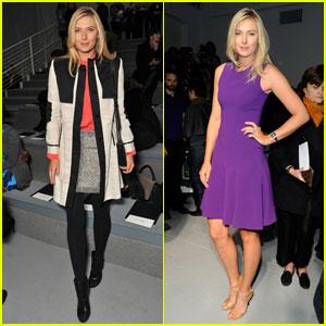 Maria Sharapova: Vera Wang & Rodarte Fashion Shows!