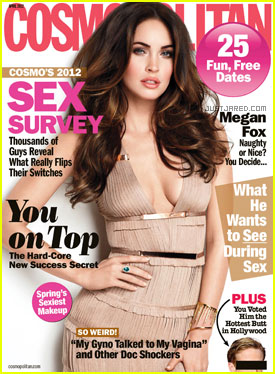 Megan Fox Covers 'Cosmopolitan' April 2012