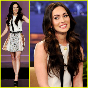 Megan Fox: 'Tonight Show With Jay Leno'!