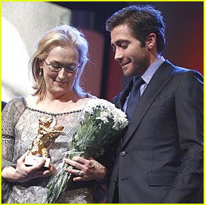 Jake Gyllenhaal: Golden Bear Award for Meryl Streep!