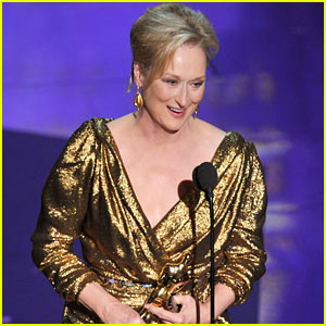 Meryl Streep Wins Oscars' Best Actress!