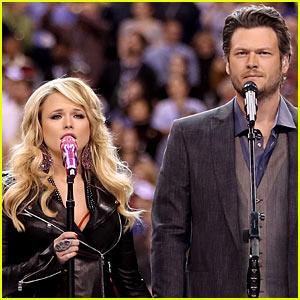 Miranda Lambert & Blake Shelton: Super Bowl Duet!