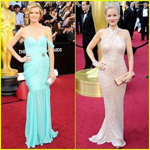 Missi Pyle & Penelope Ann Miller - Oscars 2012 Red Carpet