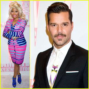 Nicki Minaj & Ricky Martin: MAC Viva Glam Party!
