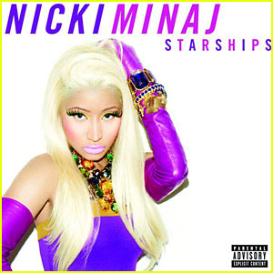 Nicki Minaj: 'Starships' Single Art Revealed!