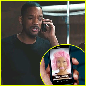 Nicki Minaj: Kids' Choice Awards Promo Video with Will Smith!