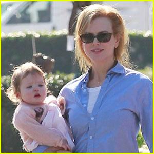 Nicole Kidman & Keith Urban: Lunch With Faith!