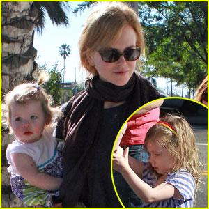 Nicole Kidman, Sunday & Faith: Playdate Time!