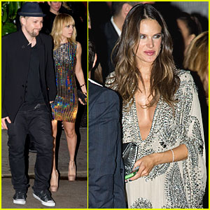 Nicole Richie & Alessandra Ambrosio: Grammys After Party!