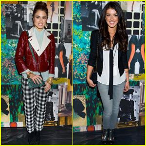 Nikki Reed & Shenae Grimes: Tracy Reese Fashion Presentation!