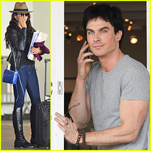 Ian Somerhalder & Nina Dobrev: From Atlanta to Los Angeles!