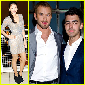 Nina Dobrev & Kellan Lutz: Weekend Fun in NYC!
