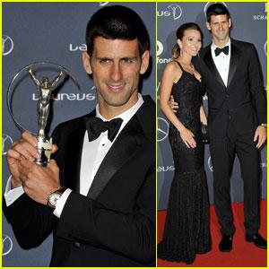 Novak Djokovic: Laureus Sportsman of the Year!