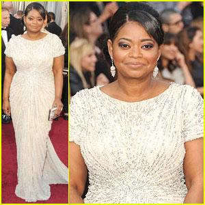 Octavia Spencer - Oscars 2012 Red Carpet
