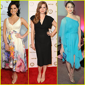 Olivia Munn & Emmy Rossum: 'Vanities' Celebration!