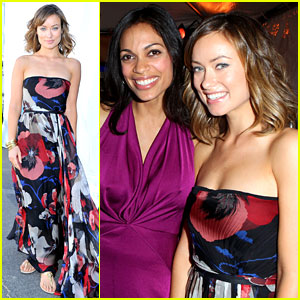 Olivia Wilde & Rosario Dawson - Spirit Awards 2012