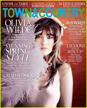 Olivia Wilde Covers 'Town & Country' March 2012