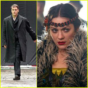 Marion Cotillard & Joaquin Phoenix: Filming in NYC