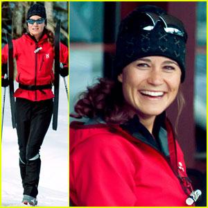 Pippa Middleton Preps for 56-Mile Ski Marathon