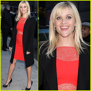 Reese Witherspoon: 'Letterman' Visit!