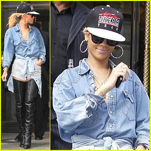 Rihanna: Dream Team in London!
