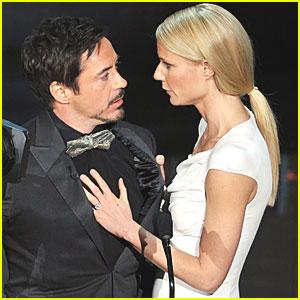 Robert Downey, Jr. - Oscars 2012 Presenter