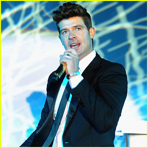 Robin Thicke Arrested for Marijuana Possession: Report
