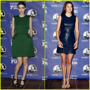 Rooney Mara & Shailene Woodley: SBIFF Virtuosos!