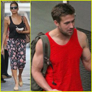 Ryan Gosling & Eva Mendes: Thai Twosome