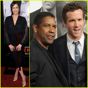 Ryan Reynolds & Denzel Washington: 'Safe House' Premiere!