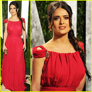 Salma Hayek - Vanity Fair Oscar Party