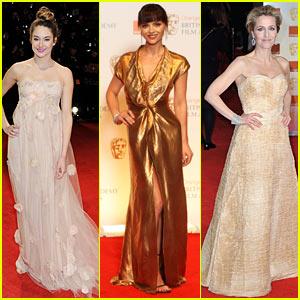 Shailene Woodley: BAFTAs 2012 Red Carpet