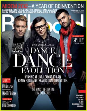 Skrillex, Diplo & A-Trak Cover 'Billboard' Magazine
