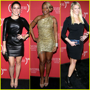 Sophia Bush & Chelsea Handler: Belvedere Party!