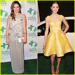 Sophia Bush & Emmy Rossum: Global Green USA!