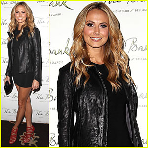 Stacy Keibler: Big Game Eve in Las Vegas!