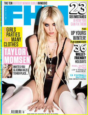Taylor Momsen Covers 'FHM' March 2012
