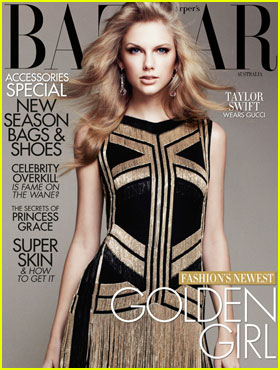 Taylor Swift Covers 'Harper's Bazaar Australia' April 2012