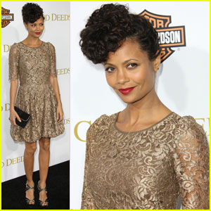 Thandie Newton: 'Good Deeds' Premiere!