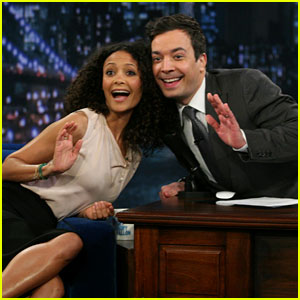 Thandie Newton: 'Late Night with Jimmy Fallon' Visit!