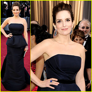Tina Fey - Oscars 2012 Red Carpet