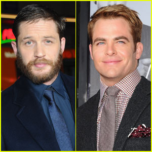 Tom Hardy & Chris Pine Premiere 'This Means War' in Hollywood
