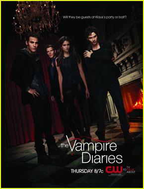 Ian Somerhalder & Nina Dobrev: New 'Vampire Diaries' Poster!