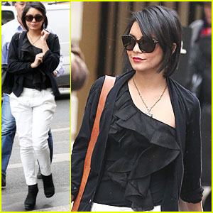 Vanessa Hudgens: Chanel Shopper in Paris!