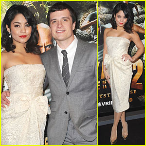 Vanessa Hudgens: 'Journey 2' Paris Premiere!